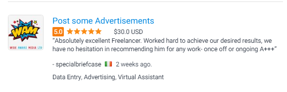 Ads posting review