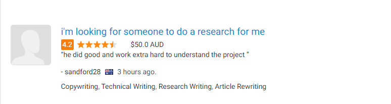 Web research review